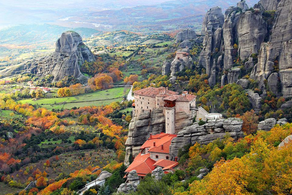 Meteora Monasteries: Captivating UNESCO World Heritage Sites in Greece
