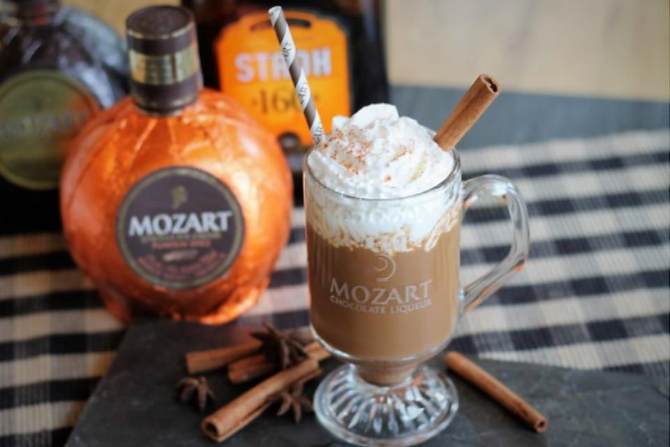 Mozart Pumpkin Spice Cocktail: This Isn't Your Basic Pumpkin Spice Latte