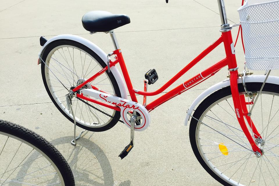 My Favorite Mother's Day Gift: A New Red Bike & Bicycle Shopping Tips