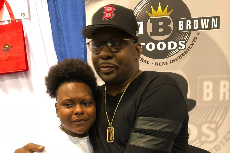 "My Daughter Met Bobby Brown & Declared It the ""Best Day of Her Life"""