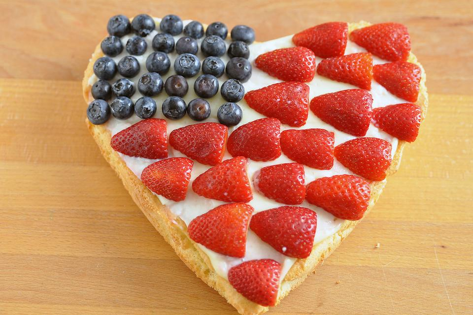 Need a Patriotic Dessert Fast? No Oven Required? Here's How!