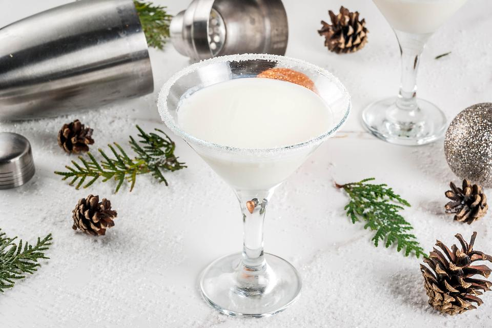 Winter Cocktails: This Snow-tini Rum Cocktail Is a Spirited Way to Use Coconut Cream