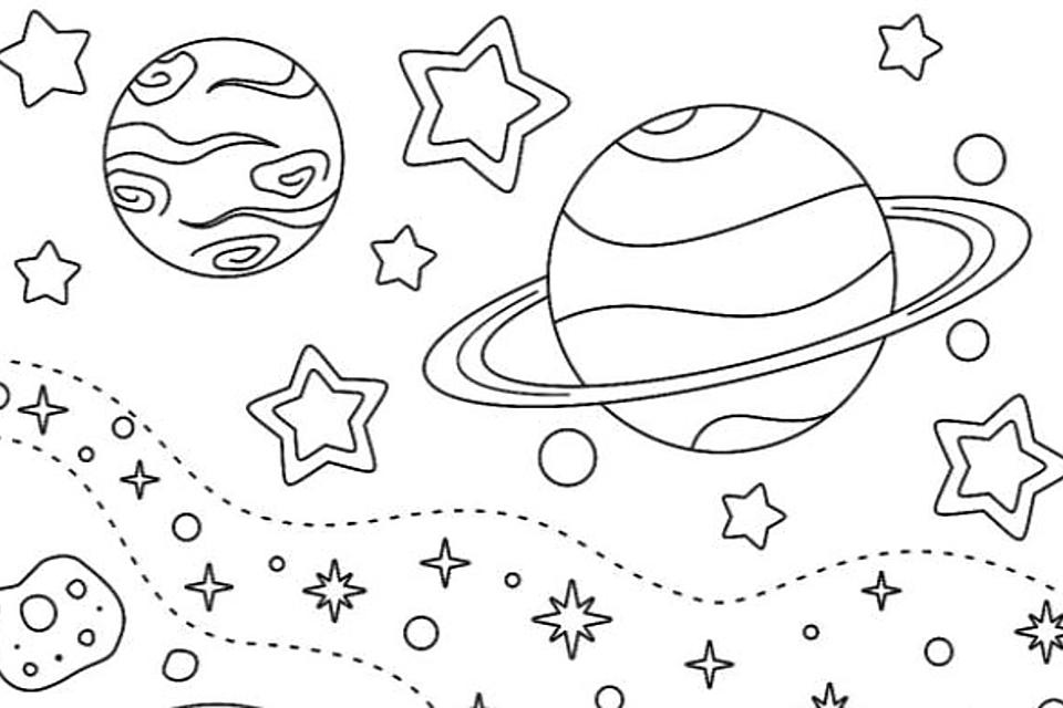 Outer Space Coloring Pages For Kids: Fun & Free Printable Coloring Pages  That Are Out Of This World Printables 30Seconds Mom