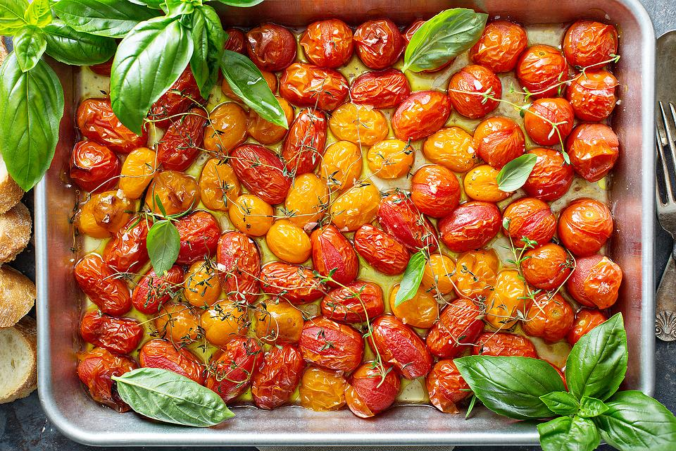 Oven-Roasted Garlic Cherry Tomatoes Recipe: A Flavorful Way to Use Those Summer Tomatoes