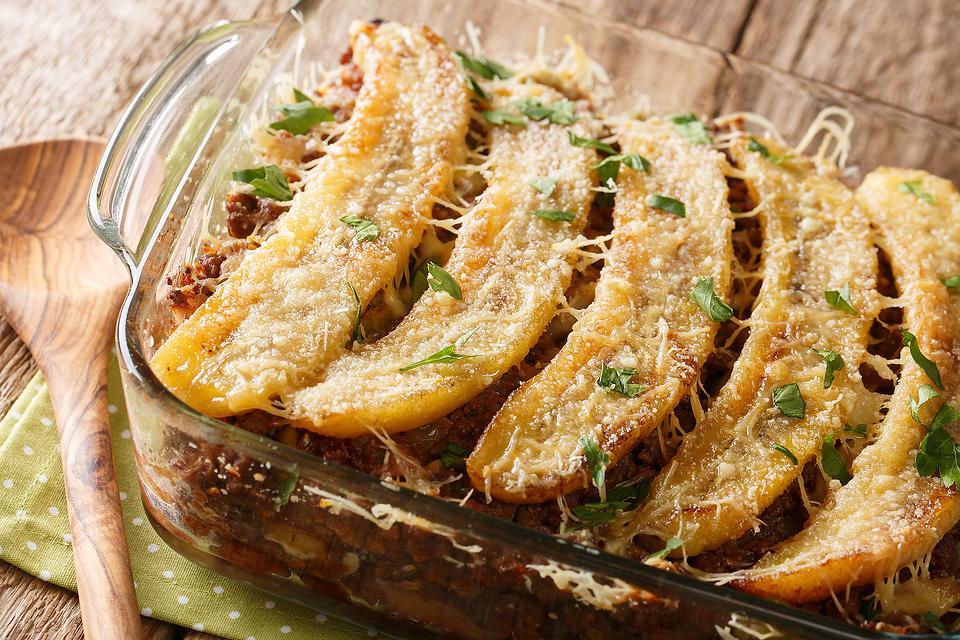 Pastelon de Platano Maduro (Plantain Lasagna): Easy Puerto Rican Lasagna Recipe