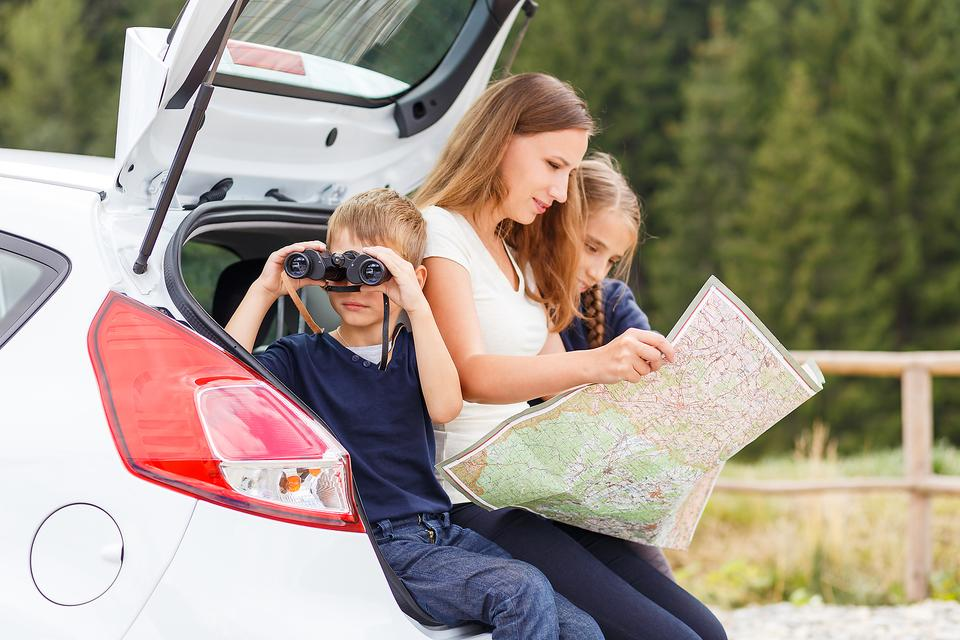 Planning a Road Trip Is the Perfect Opportunity to Teach Kids Real-Life Geography & Math Skills