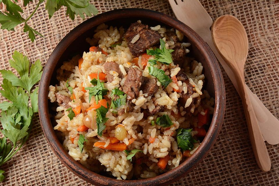 Easy One-Pot Uzbek Plov Recipe: Hearty Ukrainian Meat & Rice Recipe Is Rib Stickin' Good