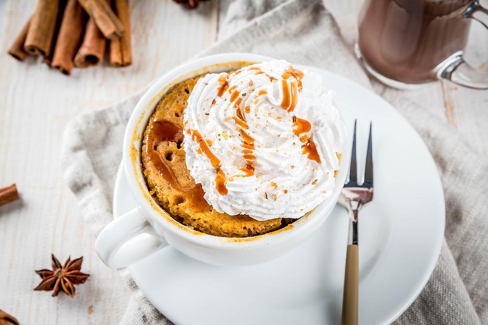 Amazing Pumpkin Spice Mug Cake Recipe: 2-Minute Pumpkin Mug Cake Recipe (Bet You Can't Eat Just One)