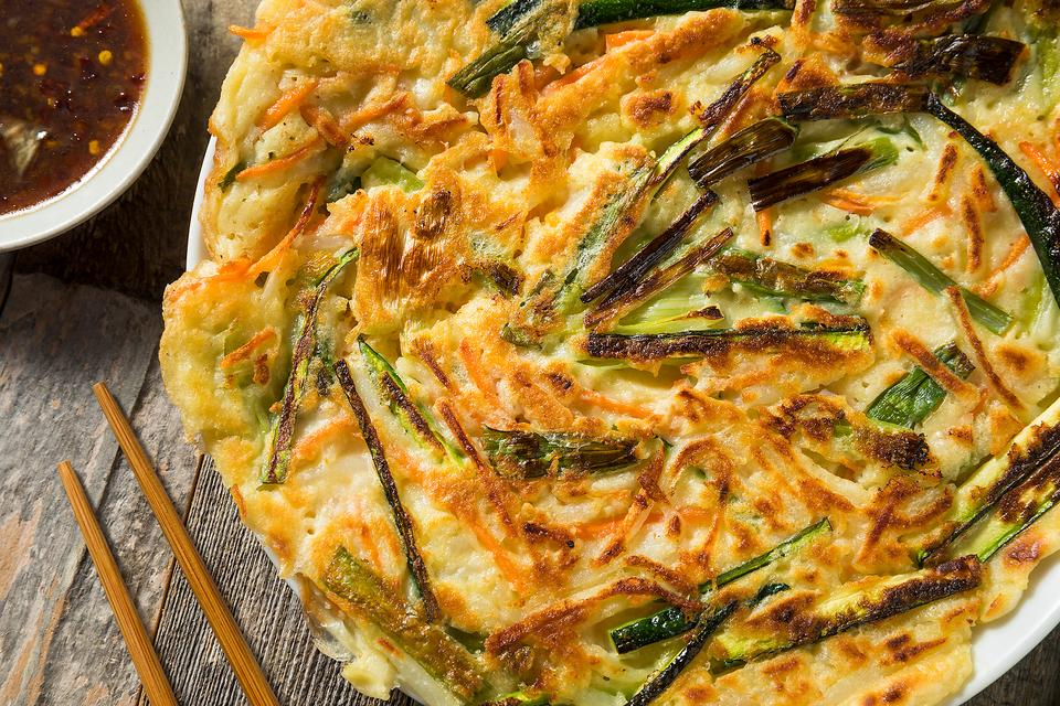 Quick Korean Recipes: Make This Easy Korean Pancakes Recipe in Less Than 30 Minutes