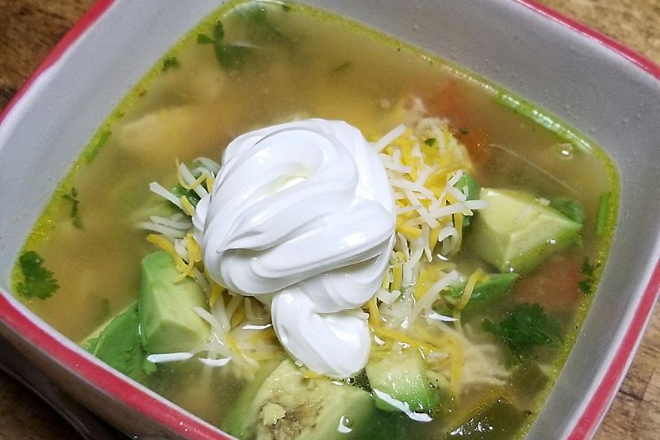 Easy Chicken Avocado Lime Soup Is Ready in Under 30 Minutes!
