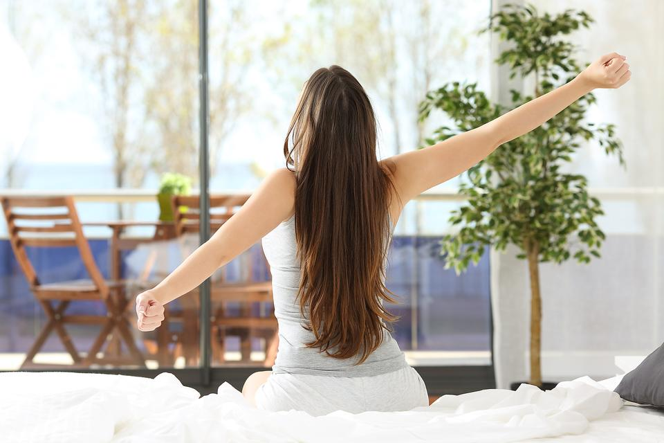 Try This Easy Yoga Technique to Help You Wake Up in the Morning!
