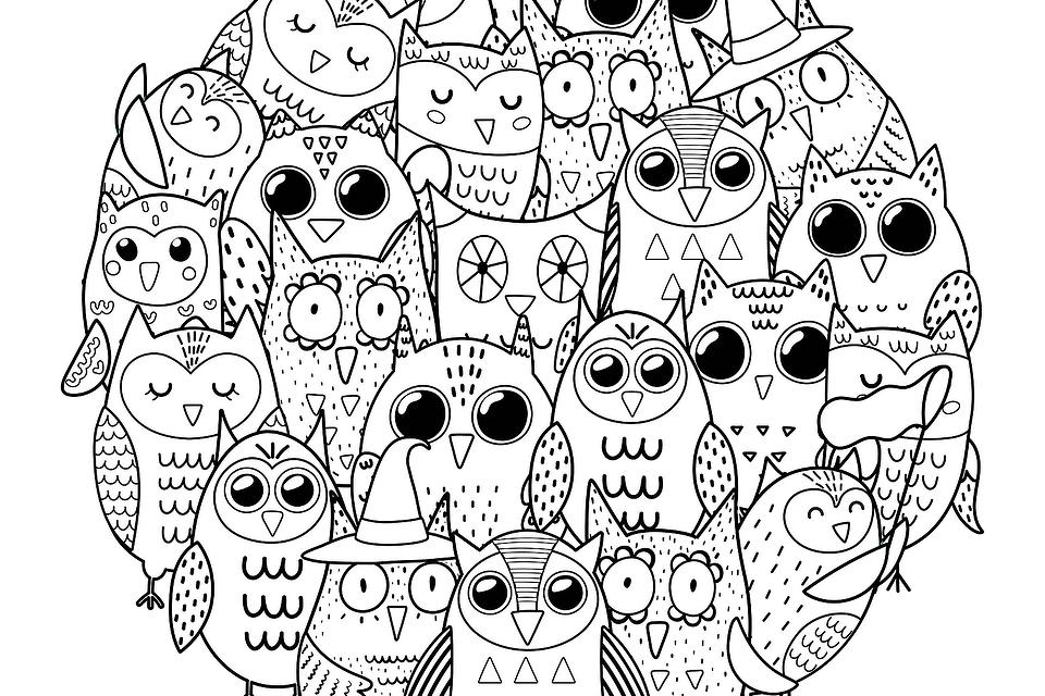 Relaxing Coloring Pages: Free Printable Mandala-Inspired Coloring Pages for Adults & Kids