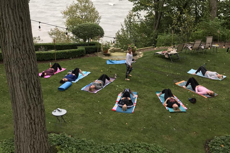 Root Down to Rise Up: What I Learned from a Yoga Class on Lake Michigan