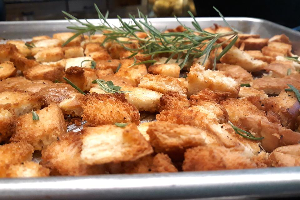 Easy Rosemary Croutons Recipe: Crank Up Your Croutons & Add Herb-licious Flavor to Your Salads