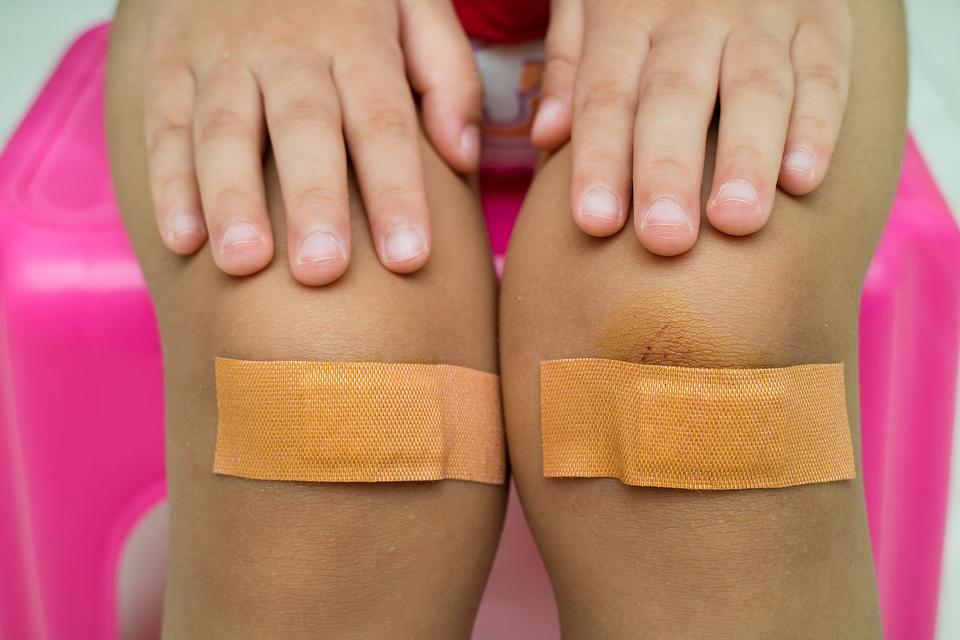 Run Out of Character Bandages? Here's a Kid-Approved Hack!