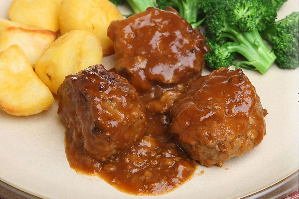 Salisbury Steak Meatballs Recipe: This Easy Meatball Recipe Is Comforting Like a Front Porch Swing on Sunday