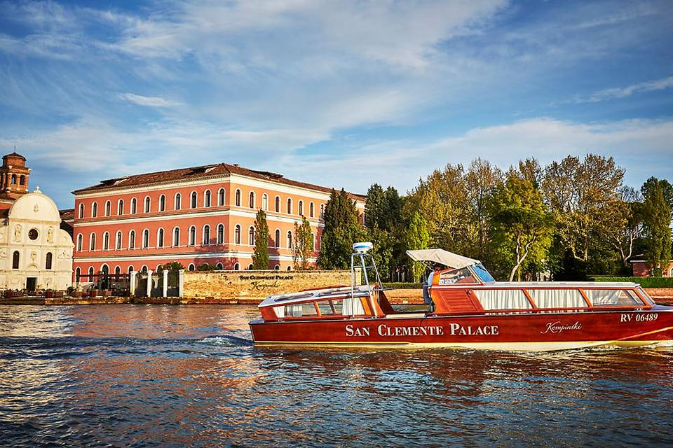 San Clemente Palace Kempinski in Venice Launches New Venetian Spa!