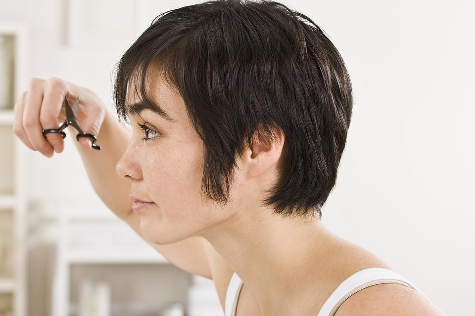 How to Trim Your Own Bangs (Save Time & Money)!