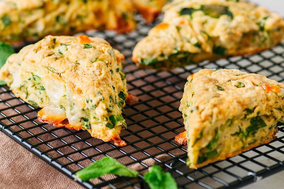 Savory Scone Recipes: This Easy Herb & Cheese Scone Recipe Will Make You Rethink Scones