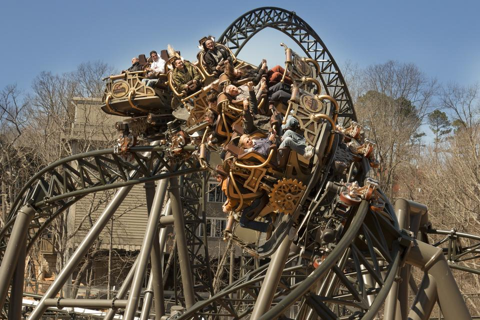 World S Largest Traveling Roller Coaster
