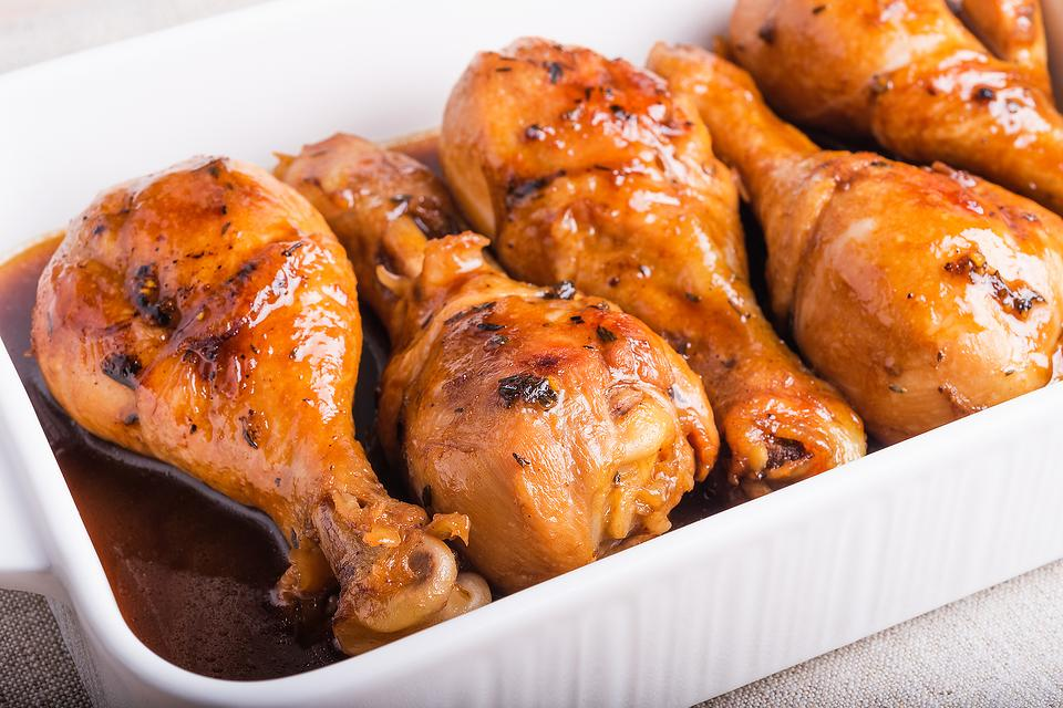 4-Ingredient Recipes: Simple Barbecue Soy Sauce Baked Chicken Drumsticks Recipe