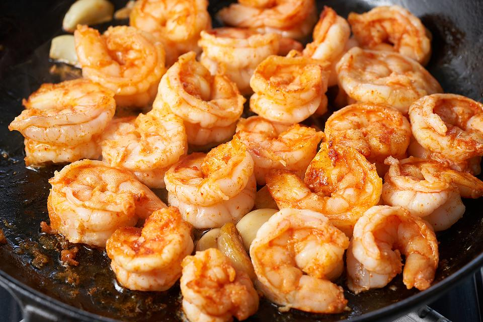 Simple Spicy Skillet Shrimp Recipe: This Easy Shrimp Recipe Is a Keeper for Keto Diets, Mediterranean Diets or Just Because