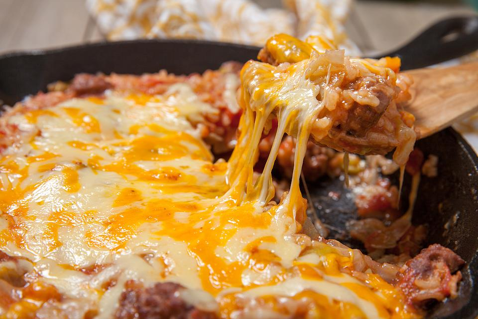 The Easiest One-Skillet Ground Beef & Cabbage Casserole Recipe You'll Ever Find