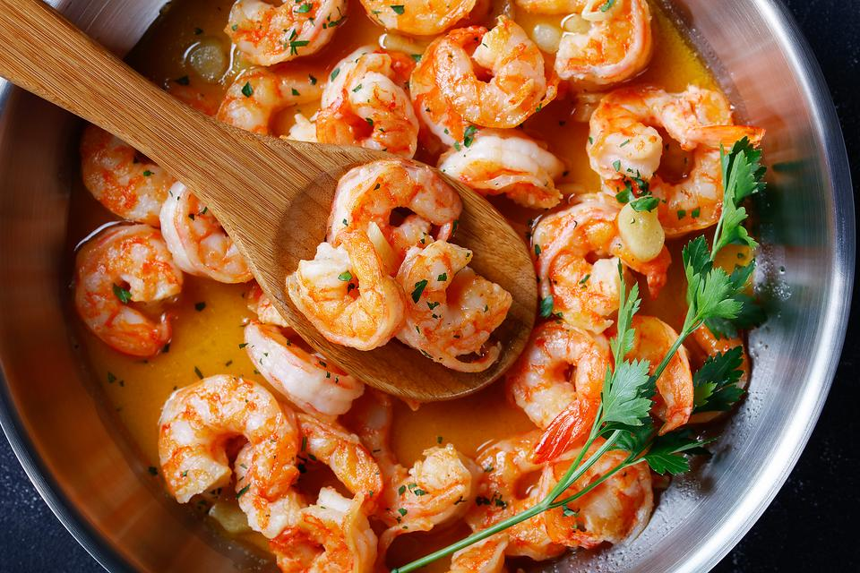 This Easy Skillet Garlic Butter Shrimp Recipe Is Ready in Less Than 20 Minutes