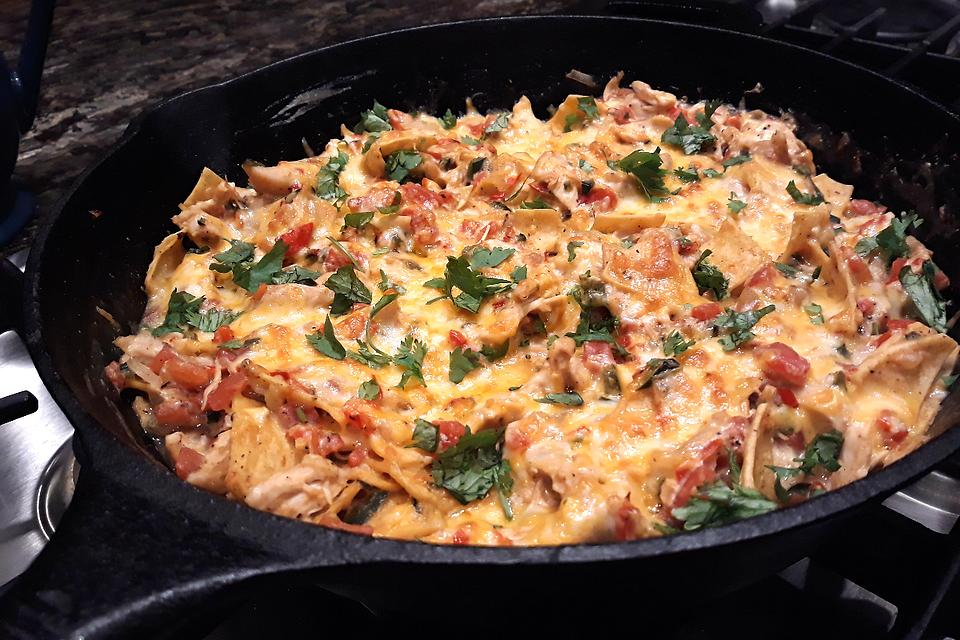 20-Minute Skillet King Ranch Casserole Recipe: A Healthier & Faster Version of the Famous Texas Casserole Recipe