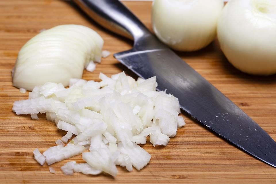 Slicing Onions Without Crying: This Pro Tip Works for All Alliums!