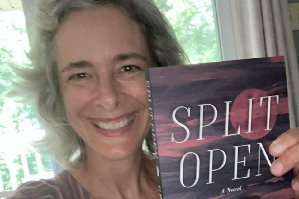 """When a Mom Becomes a Superhero: Actor Greta Lind's New Novel """"Split Open"""" Is Based On Her Real-life Moment Stopping a Runaway School Bus"""