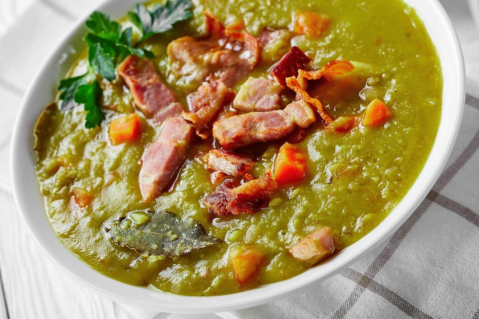 Split Pea & Ham Soup Recipe: Use That Leftover Ham in This Easy Split Pea Soup Recipe