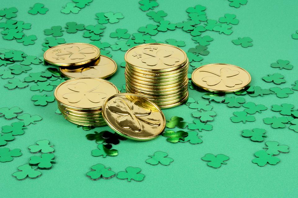 St Patricks Day Activities For Kids Have A Gold Coin Hunt