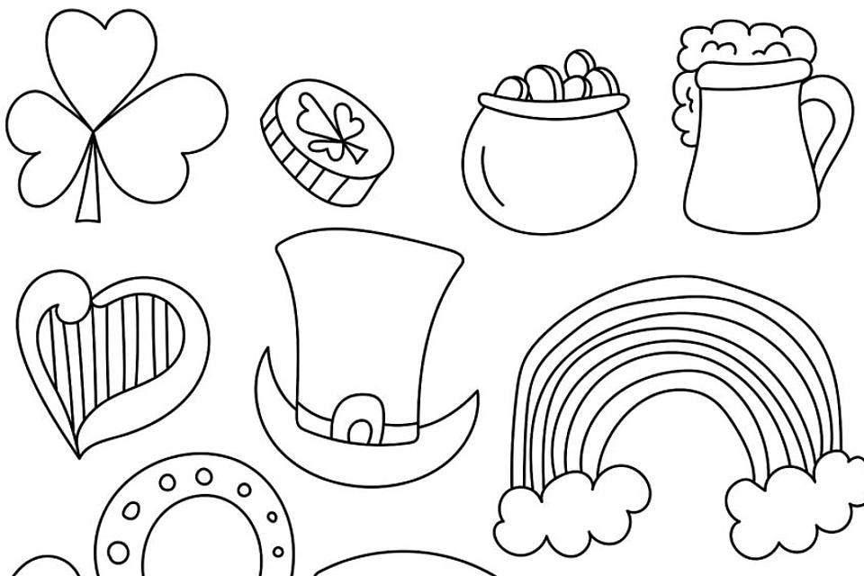 St. Patrick's Day Coloring Pages: Fun & Free Printable Coloring Pages For  St. Patrick's Day For Kids & Adults Printables 30Seconds Mom