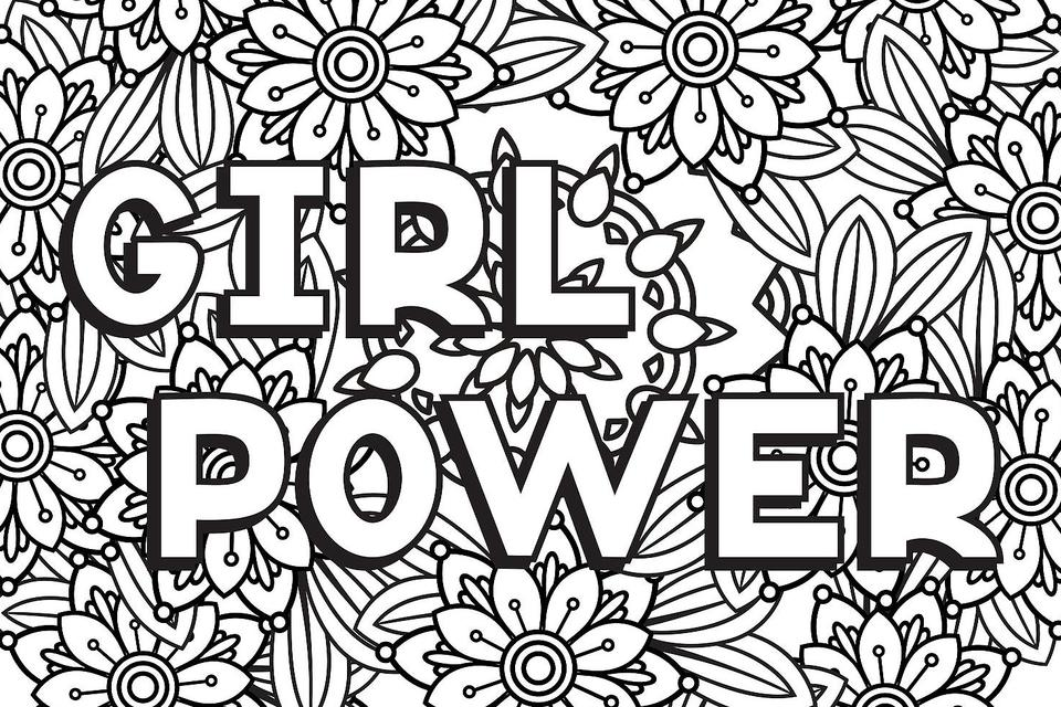 Strong Women Coloring Pages: 10 Printable Coloring Pages For Badass Women  Who Are Changing The World Printables 30Seconds Mom