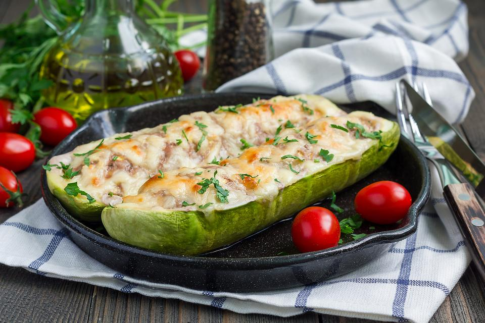 Whatever Floats Your Zucchini Boats: How to Make Cheesy Stuffed Zucchini!