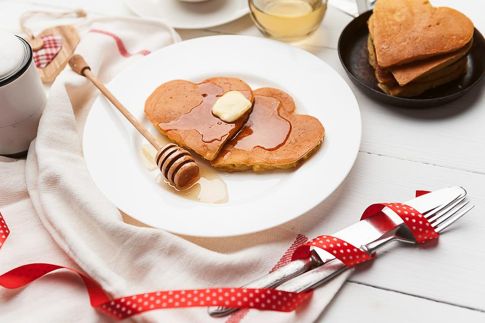 Surprise Valentine's Day Breakfast & Dinner: Make It a Family Affair!