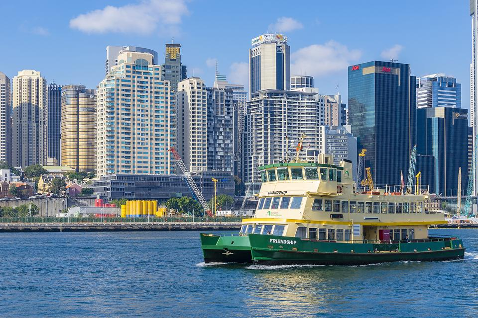 Sydney Ferries: Practical Transportation in Australia or a Budget Harbour Cruise!