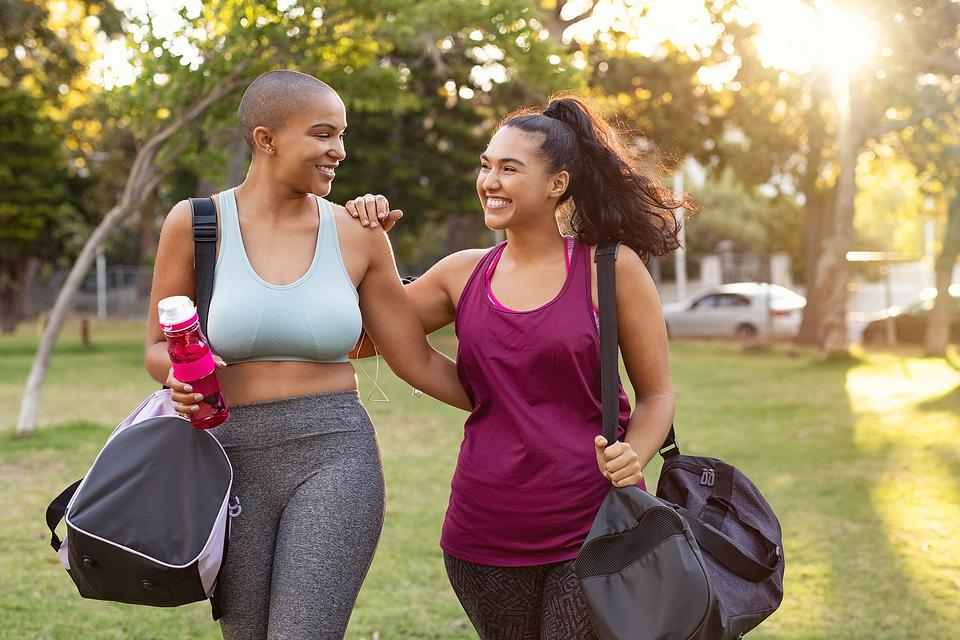 The Buddy System: Why Weight Loss & Getting Fit Is Easier When You Do It With a Friend