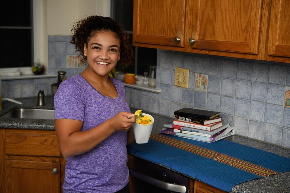 The Incredible Edible Egg & Gymnast Laurie Hernandez Launch Search for Incredible Kids