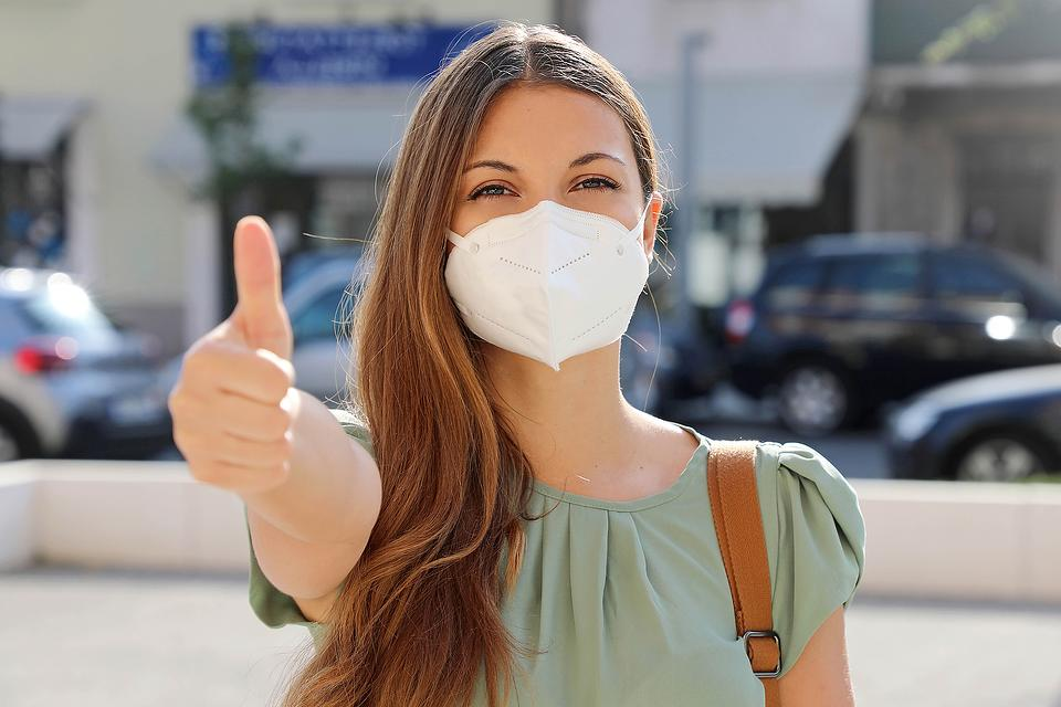 The Masks Have It During the Coronavirus Pandemic: Wearing a Face Mask May Protect Wearer By Reducing Severity of Infection