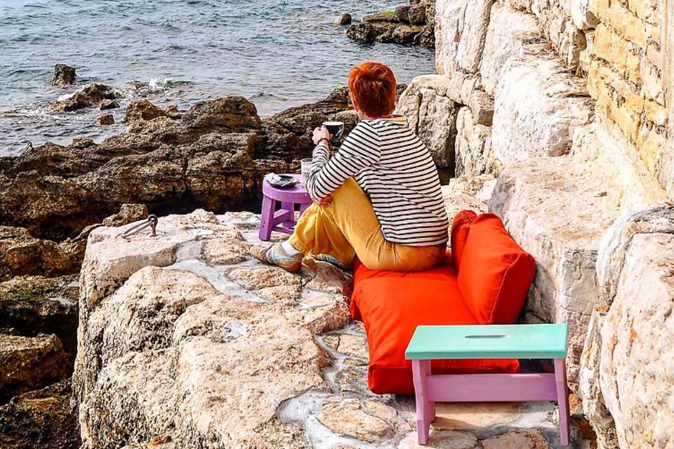 Coffee in Croatia: The Perfect Cup of Coffee on the Cliffs of Rovinj, Croatia
