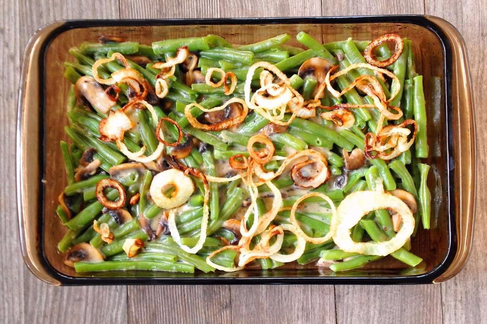 This Green Bean & Onion Casserole Recipe Is Dairy-free & Delish