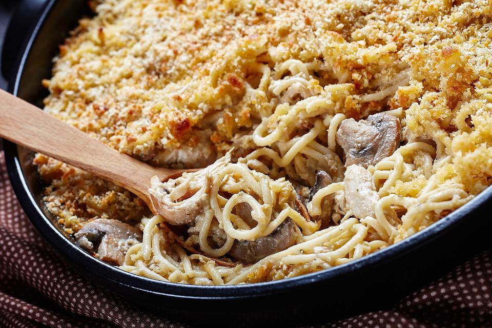 Turkey Tetrazzini Recipe: This Easy, Creamy Tetrazzini Recipe Is on the Table in About 30 Minutes