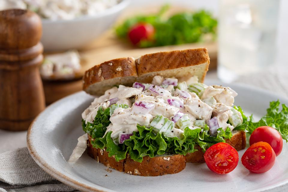 Ultimate Chicken Salad Recipe: This Zesty Chicken Salad Recipe Makes the Best Sandwich or Salad Topper