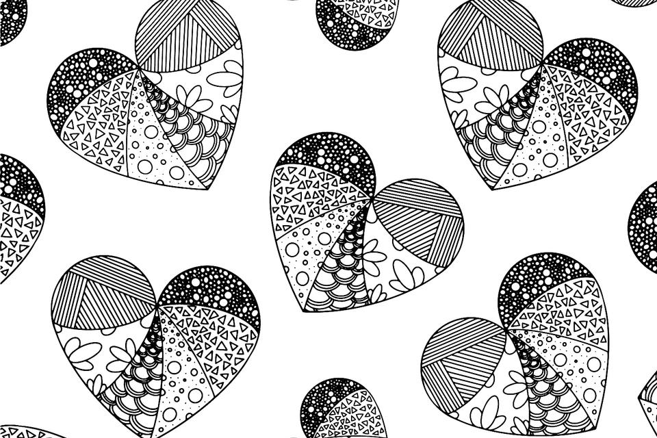 Valentine S Day Coloring Pages Heart Love Themed Coloring Pages
