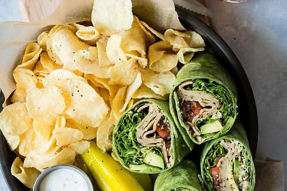 Vegan Wraps: How to Make Lightlife's Easy Veggie Wrap With White Bean & Kale Deli Slices!