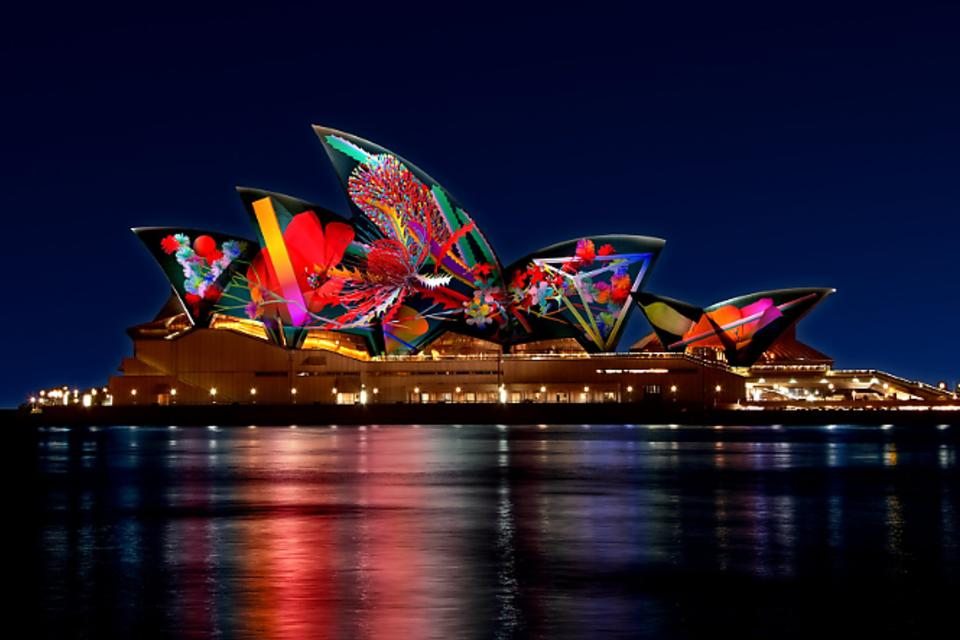 Vivid Sydney: A Festival of Light, Music & Ideas in Australia