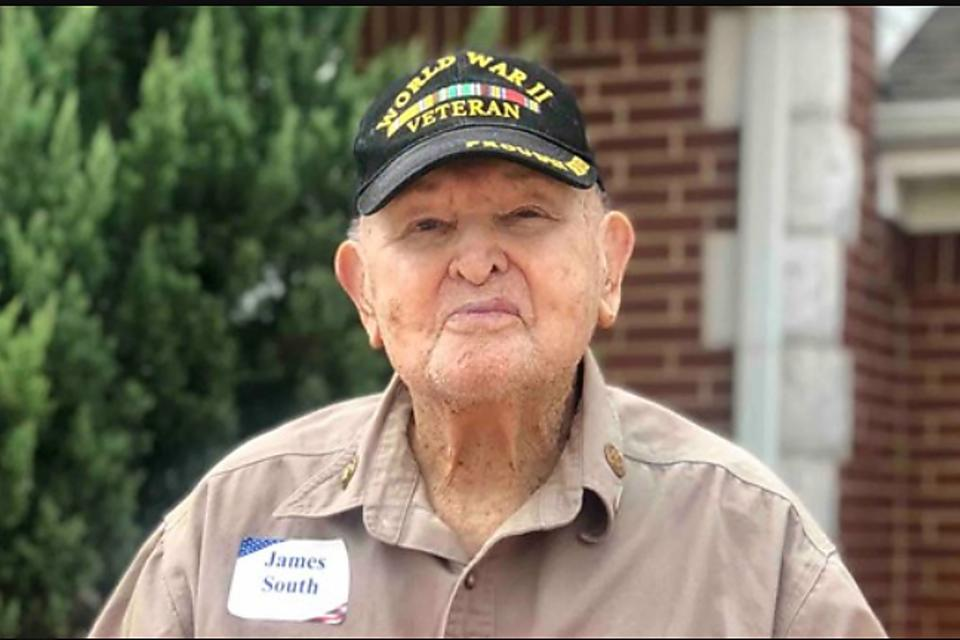 Happy Birthday James South! WWII Veteran James South Wants 100 Birthday Cards for His 100th Birthday