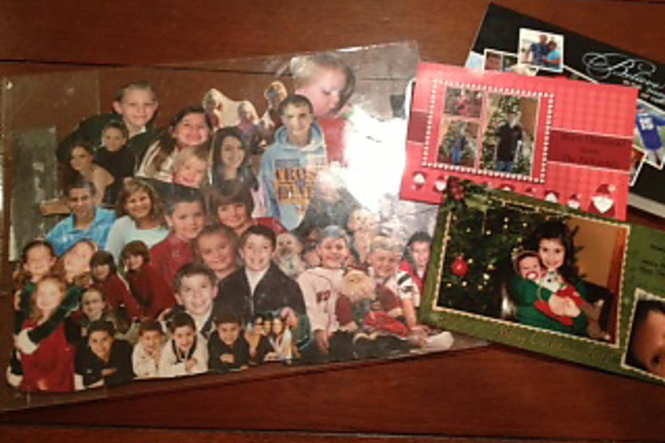 Not Sure What to Do With Holiday Photo Cards? How to Make a Collage!